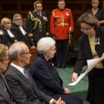 Ms. Dowdeswell views her commission of appointment