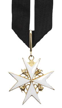 Insignia of a Dame of Justice of the Order of St John