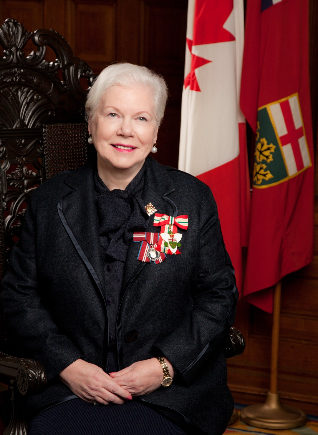 Lieutenant Governor's official photo