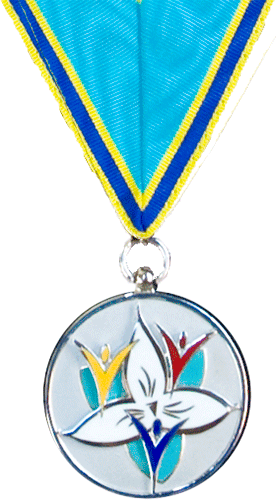 Ontario Medal for Young Volunteers insignia