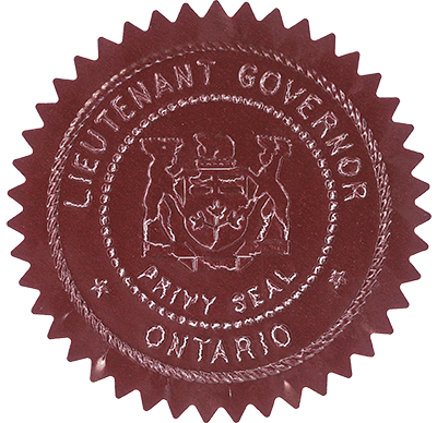 Lieutenant Governor's privy seal