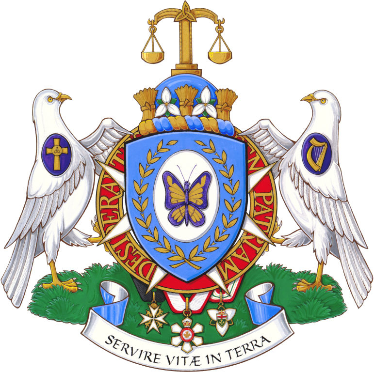 The Hon. Elizabeth Dowdeswell's coat of arms