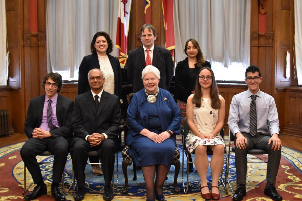 CIGI Essay Prize Award Recipients and Judges