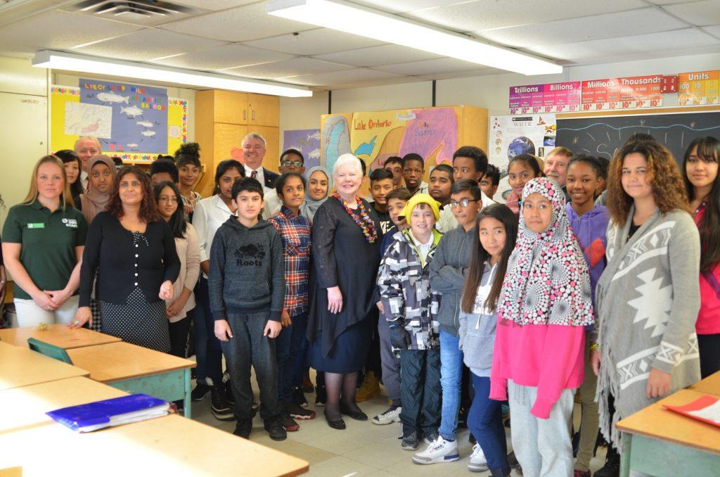 St. Margaret's Public School Grade 7 & 8 Students