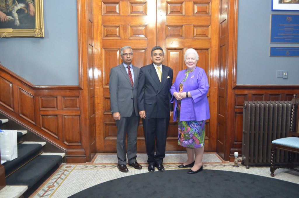 High Commissioner and Consul General of Sri Lanka