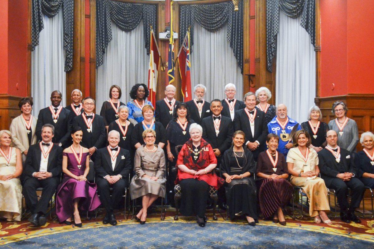 Cérémonie d'investiture de l'Ordre de l'Ontario