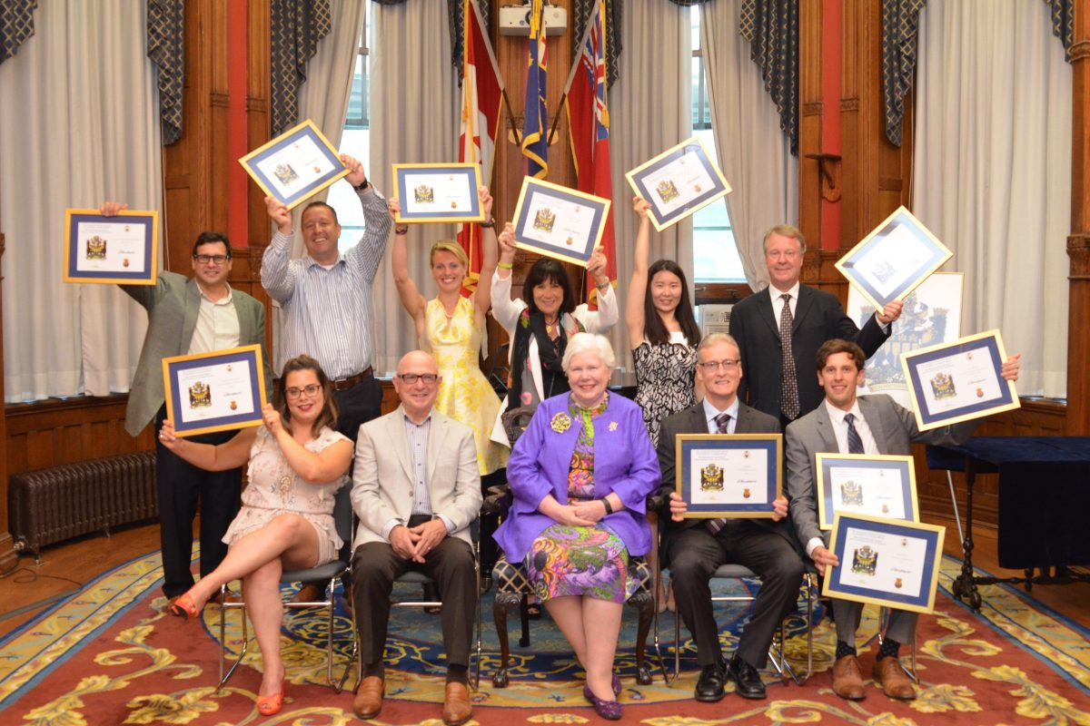 Lieutenant Governor's Award for Excellence in Ontario Wines
