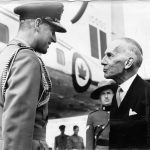 July 29, 1954: The Duke of Edinburgh is greeted in Ottawa by Governor General Vincent Massey