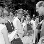 June 9, 1960: Prince Philip walks through the St George campus of the University of Toronto