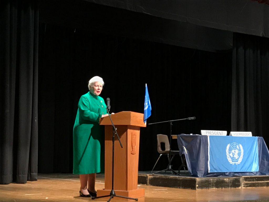 Simulation des Nations-Unies de l'Institut collégial Martingrove