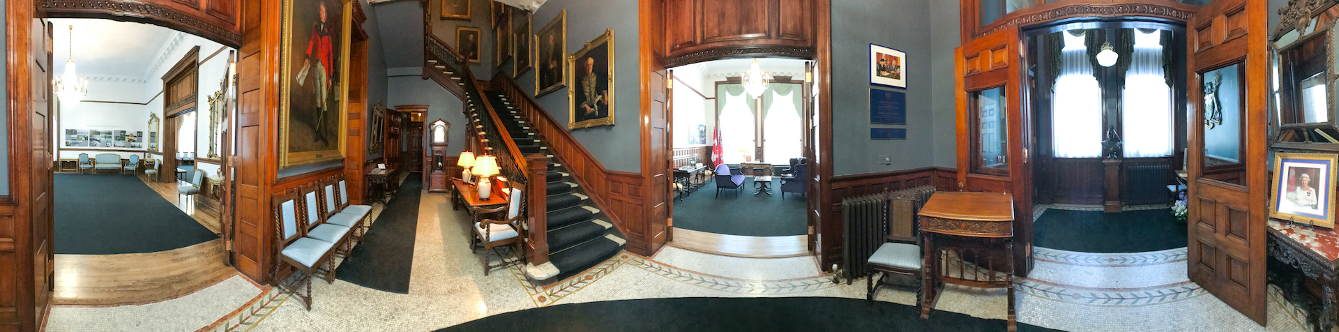 Foyer of the Lieutenant Governor's Suite