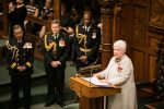 The Lieutenant Governor reads the Speech from the Throne