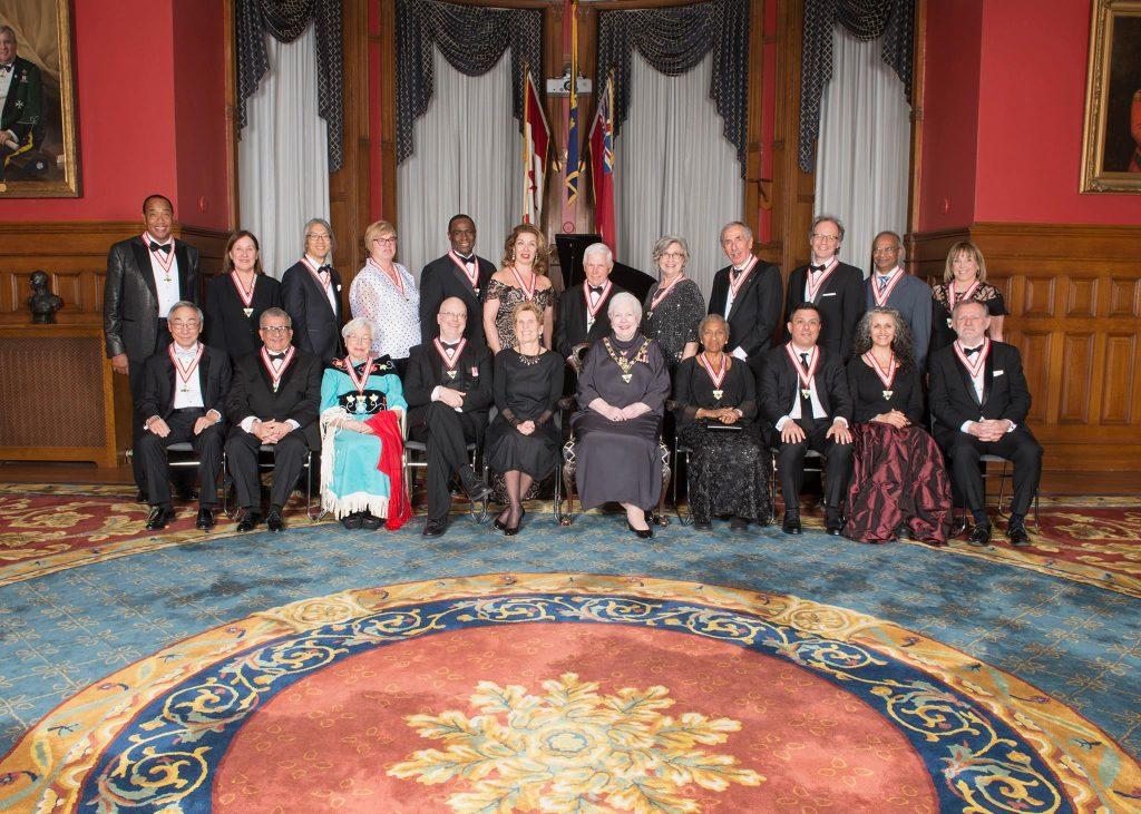 L'investiture de l'Ordre de l'Ontario