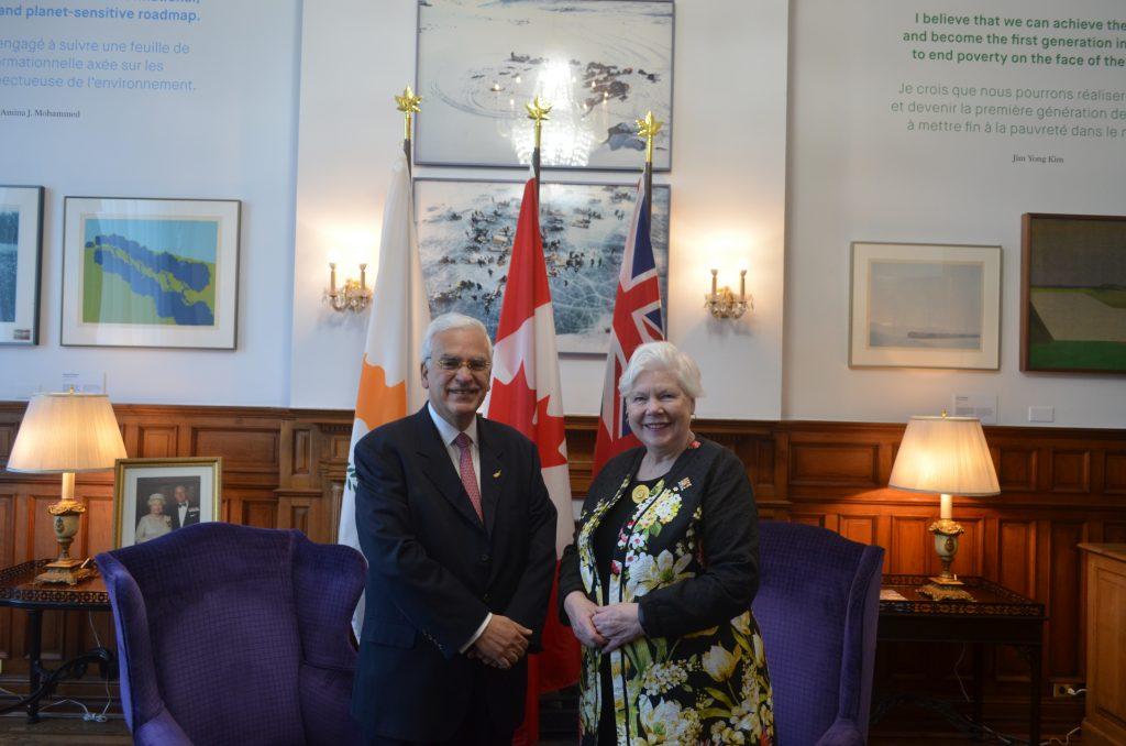 Haut-commissaire de Chypre au Canada