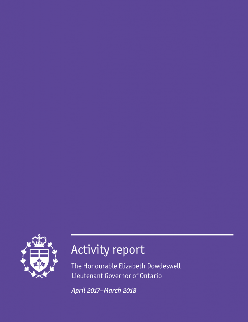 Publication: Activity report (April 2017–March 2018)