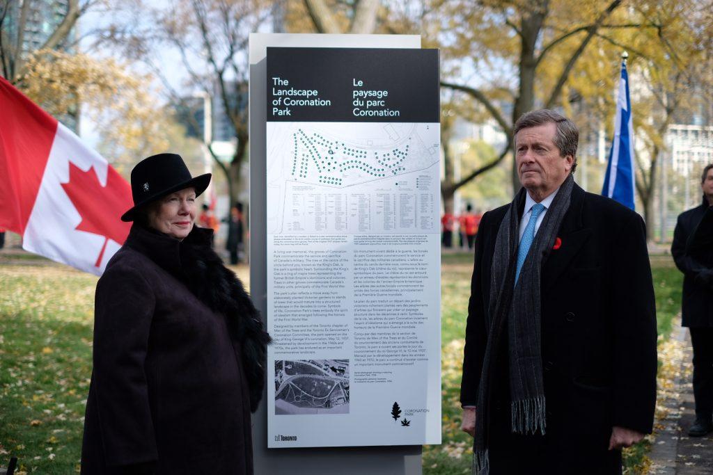 Rededication Ceremony of Coronation Park