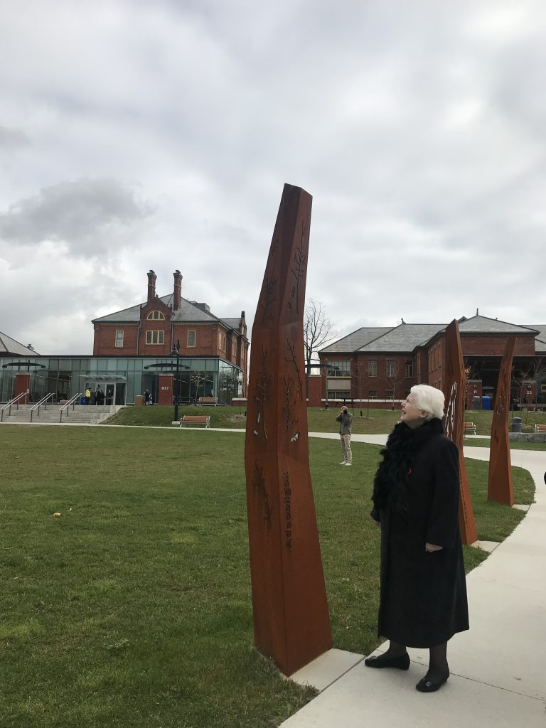 Humber College Lakeshore Indigenous Culture Markers Grand Opening