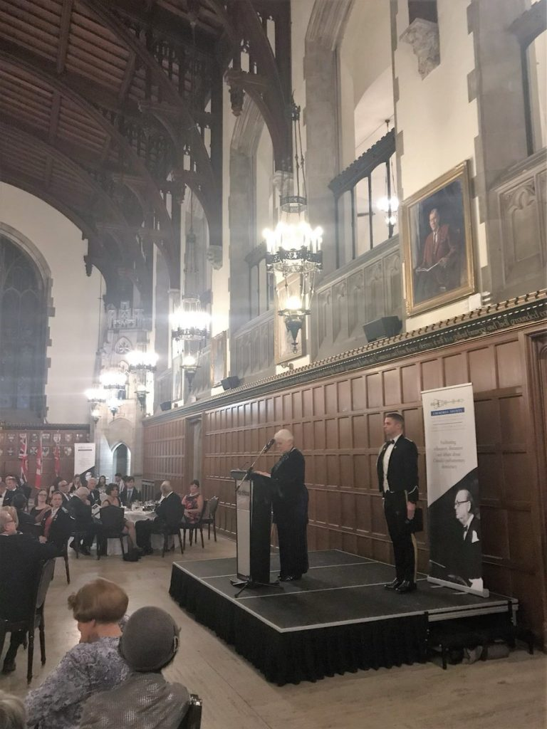 Churchill Society for the Advancement of Parliamentary Democracy Annual Award Dinner
