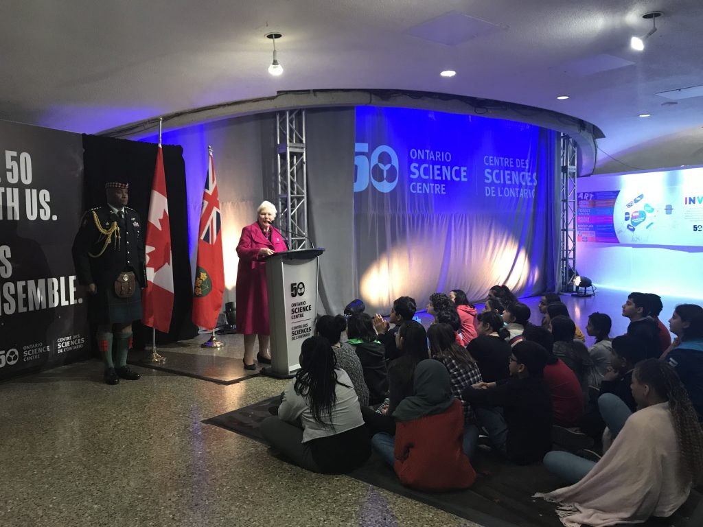 Ontario Science Centre 50th Anniversary Launch