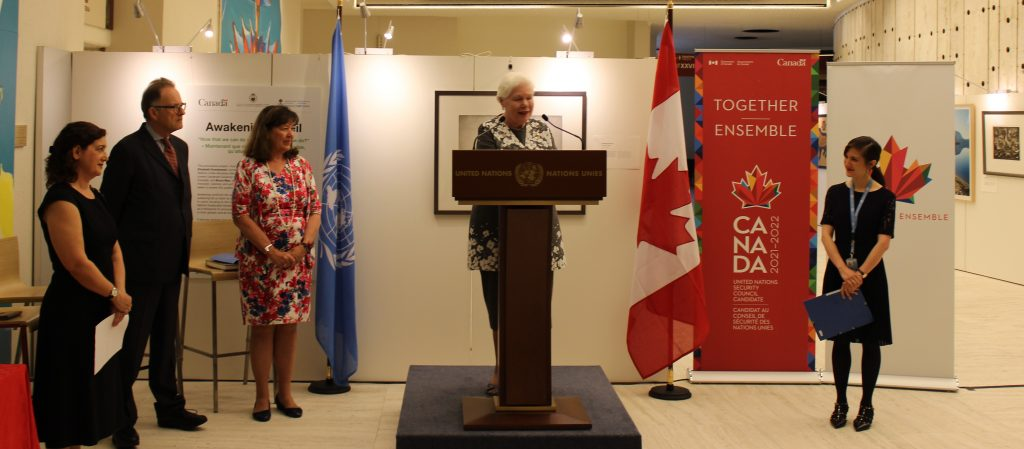 Media Release: Lieutenant Governor Unveils Art Exhibition at United Nations in Geneva