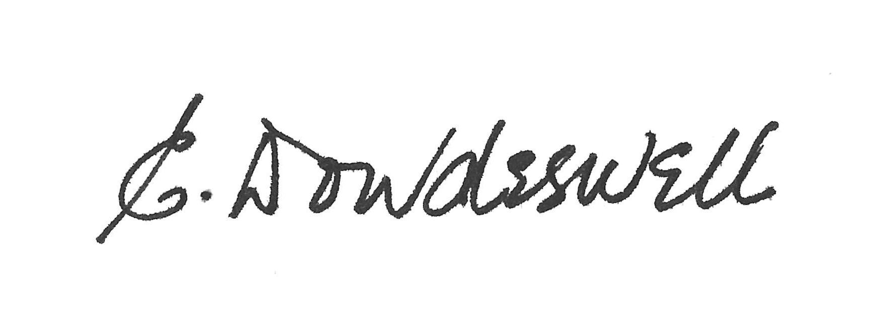 Lieutenant Governor's signature