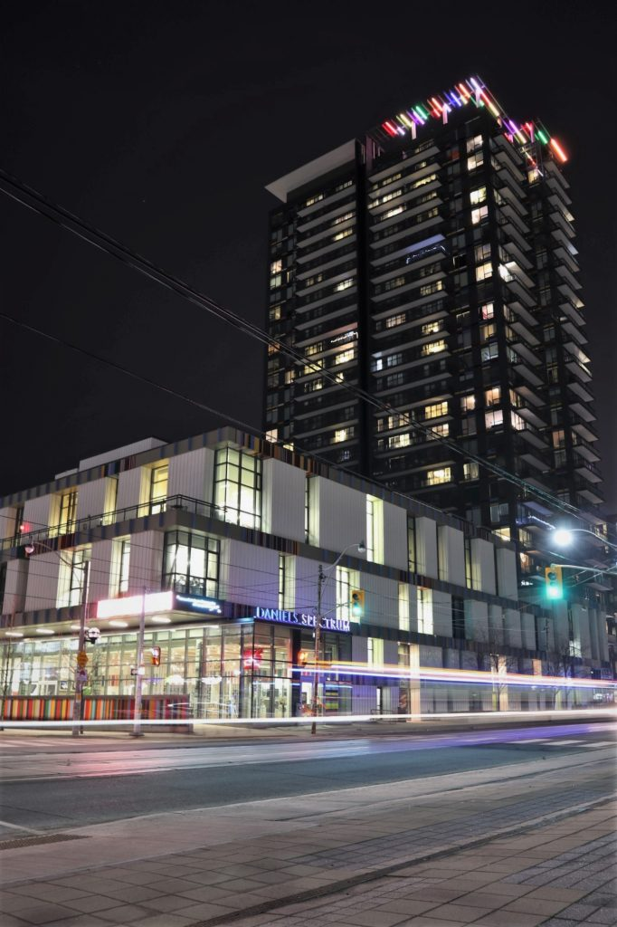 A night-cap of the newly developed Regent Park