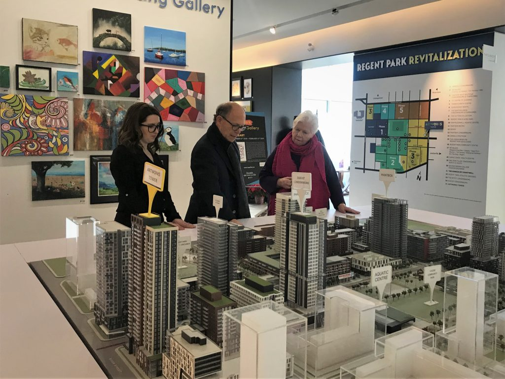 The Lieutenant Governor looks at models for phase 3 of Regent Park