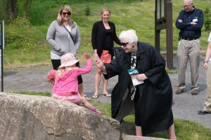 The Lieutenant Governor visits Chapman Mills Conservation Area