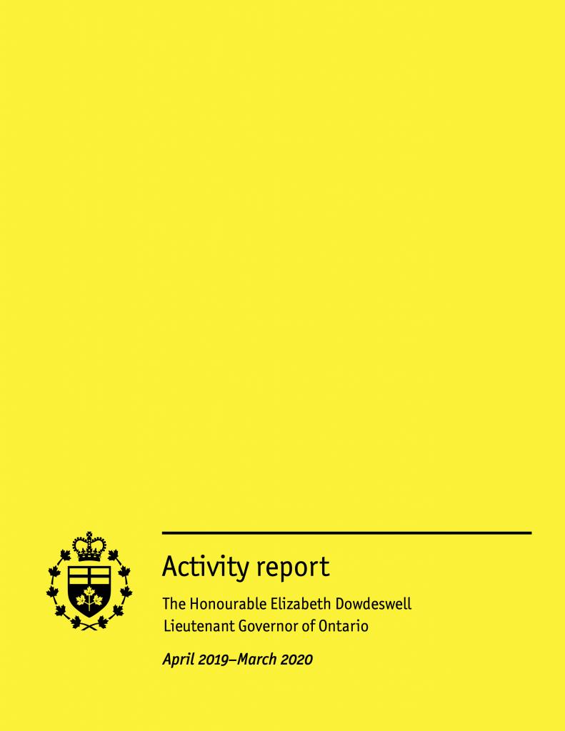 Activity report (2019-2020)